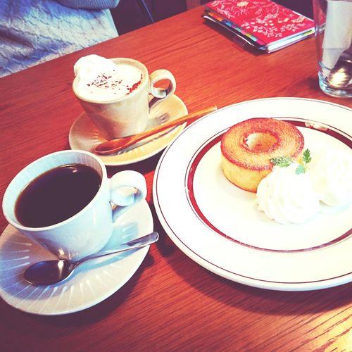 カフェタイム。。。タロコーヒー。 Cafe 上本町 Talocoffee