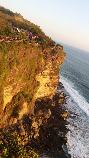 EyeEm Selects Sea Beach Nature Outdoors Beauty In Nature Scenics Sand No People Sunlight Landscape Day Sky Sunset Summer Horizon Over Water Water Wave Cliff Edge Cliffside View Tourist Attraction  Vacation Destination Tranquility The Week On EyeEm INDONESIA