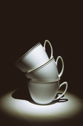 Bw still life coffee