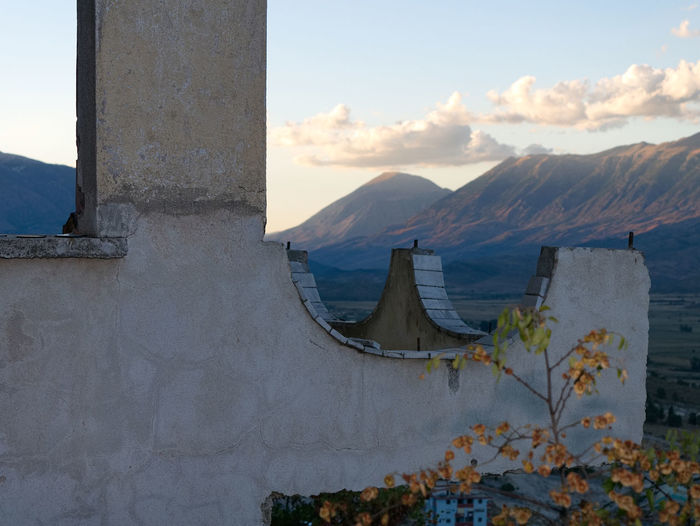 Albania Albania Tour Gjirokaster Architecture Day Mountain Mountain Range Nature No People Outdoors Sky