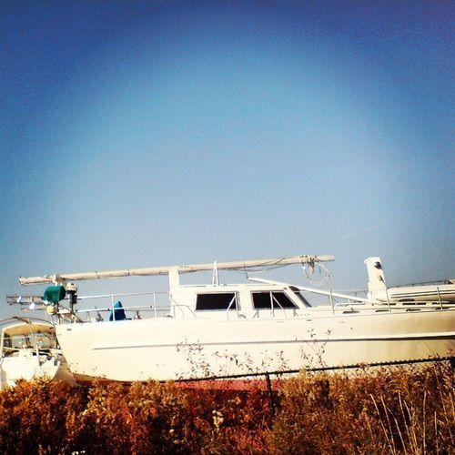 My guiltiest pleasure. Ever. Travel Vacation Sky Sun lake marina ladd00 yatch on Ontario yyz toronto exploreontario discoverontario