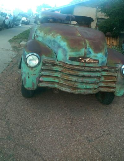 Foundinmarfa Oldchevrolet Rustymetal Taking Photos Hi! Color