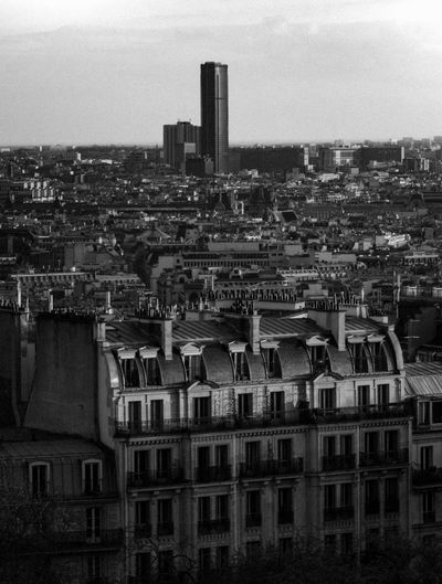 Forbidden lands EyeEmSelect City Life City Paris Montmartre Blackandwhite Black And White Bnw Skycraper Urban Montparnasse The Architect - 2018 EyeEm Awards