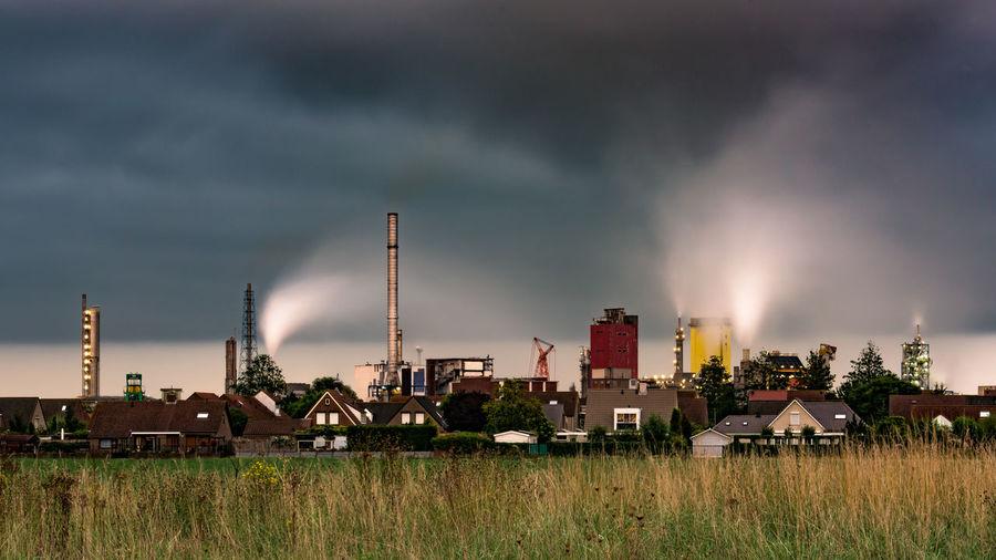 September 12 Year Of Photography 2015 Www.benjaminvanderspek.com Factory Industry Zeeland  Pollution In My World EyeEm Best Shots How Do We Build The World?