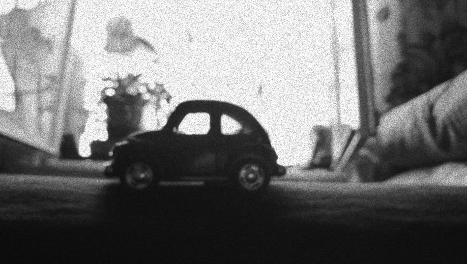 Car Blackandwhite Effect