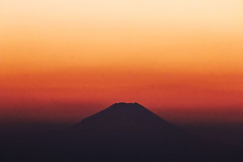 Mt.Fuji Autumn Fujimountain Fujimountain In Sunset Red Sky Beautiful Sunset! Beautiful Nature EyeEm Best Edits From My Point Of View EyeEm Nature Lover Naturelovers