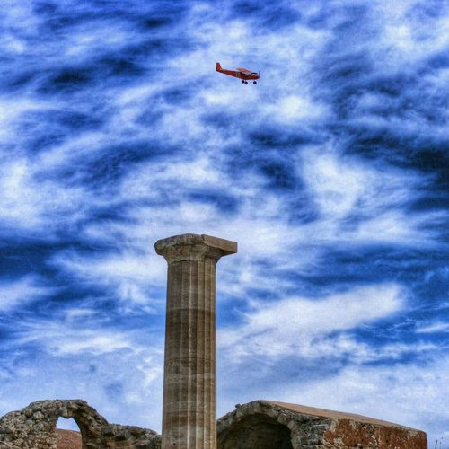 Just Adding Old Pics Cloud_collection  Ancient Ruins Rhodes