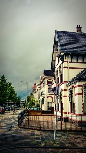 Street Photography of Old Houses. Vintage Moments in Groningen. Jugendstil Architecture Enjoying The View
