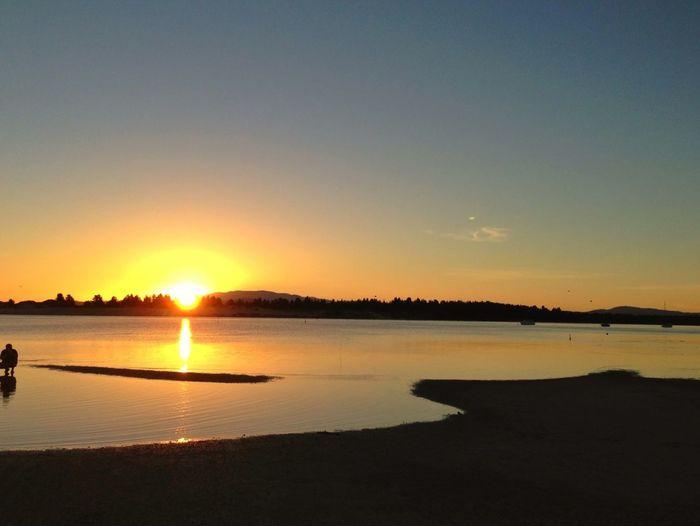 Catching Sunset