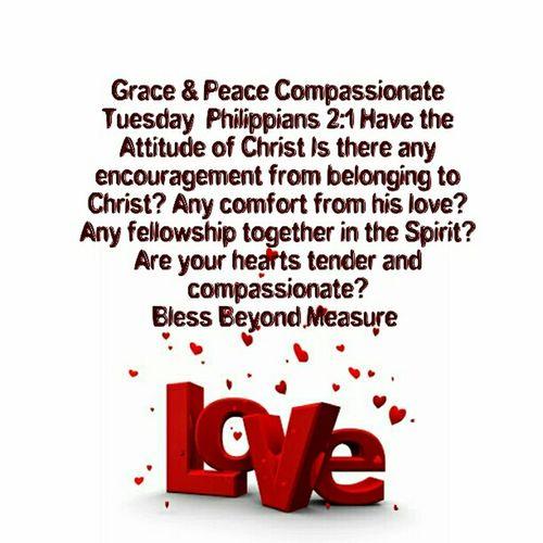 Grace & Peace Compassionate Tuesday