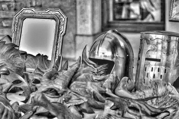 Monochrome Blackandwhite Hdr_Collection HDR Eye4black&white  Helm EyeEm Best Shots - Black + White EyeEm Gallery Helmets Masks