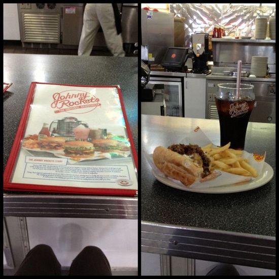 ;) fooooood gasm Cheesesteak Fries Johnnyrockets