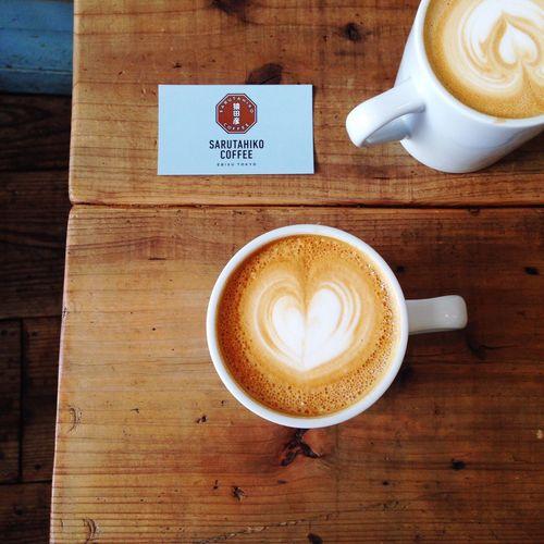 Afternoon coffee on Saturday. Japan Coffee SaritahikoCoffee 猿田彦珈琲 Saturday Latte EyeEm Best Shots