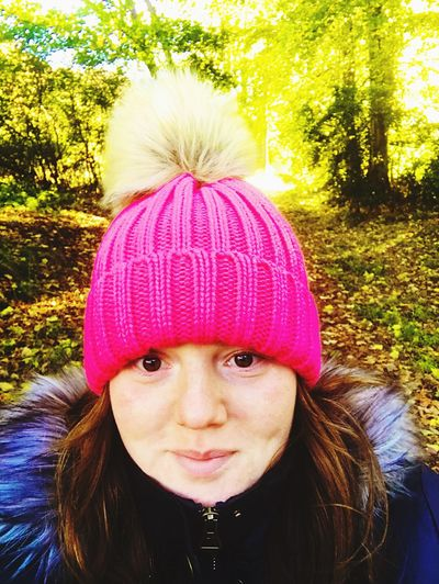 Headshot Selfie ✌ Autumn Slow Walking Chronicpainwarrior Walked down to finally see thhe Donside Hydro which is now finished and can generate electricity! Very cool! Renewable Energy