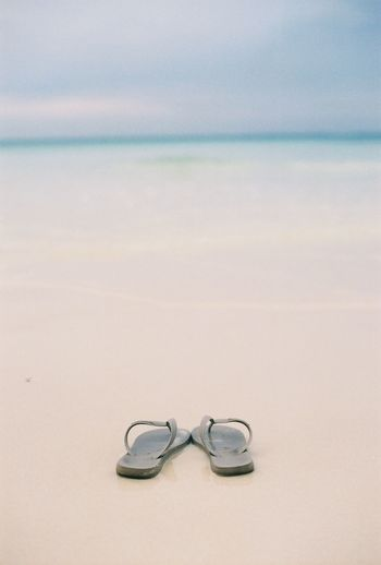 Beach Sea Sand No People Nature Water Beauty In Nature 35mm 35mmfilmphotography Beauty In Nature 35mmfilm 😚