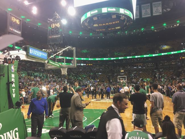Celtics Game Boston Basketball Playoffs NBA First Eyeem Photo