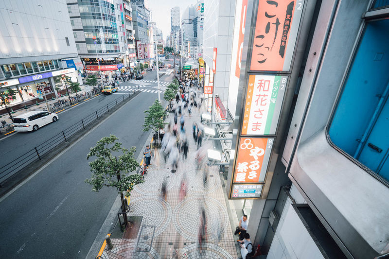 Architecture Building Building Exterior Built Structure City City Life City Street Cityscape Day Diminishing Perspective Japan Lifestyles Modern Office Building Outdoors Residential Building Residential District Road Shinjuku Sky The Way Forward Ultimate Japan
