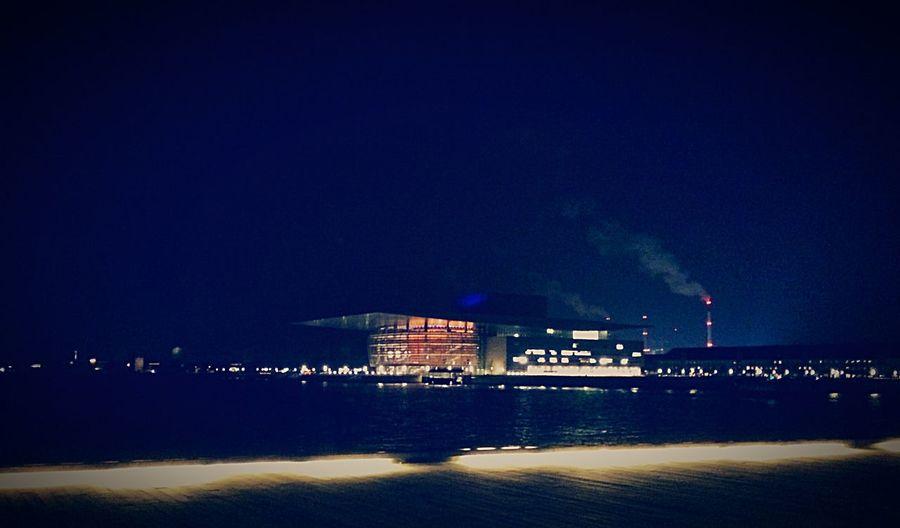 The Danish opera TheDanishOpera Operahouse Denmark Royaloperahouse Royalopera Light And Shadow Lights Theater Nightphotography Night Lights