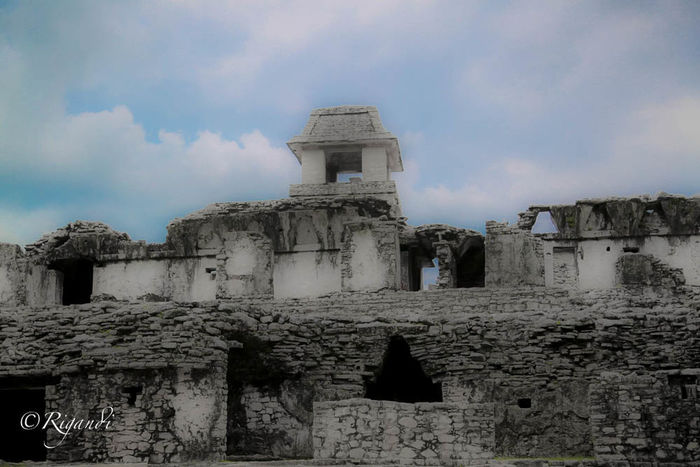 mayan architecture Abandoned Ancient Ancient Civilization Architecture Building Exterior Built Structure Cloud - Sky Day History Low Angle View No People Old Ruin Outdoors Place Of Worship Religion Sky Travel Destinations