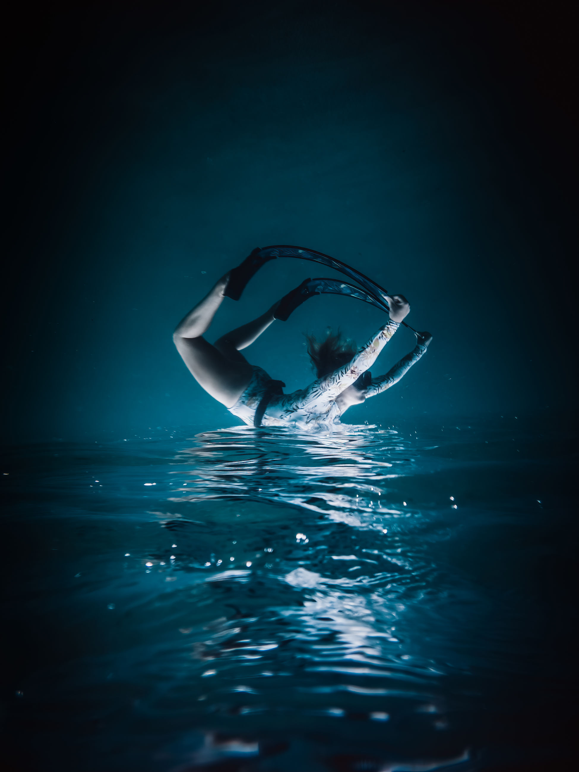 water, reflection, blue, wave, sea, swimming, nature, underwater, darkness, sinking, ocean, no people, vehicle, light, motion, rippled, outdoors, floating on water