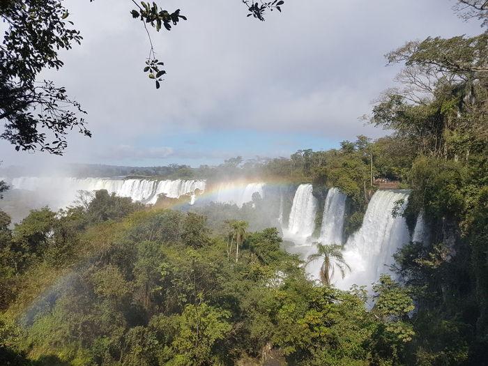 FozDoIguaçu Argentina Argentina Photography Brasil Puertoiguazu NofilternoeditHello World Beautiful Rainbow