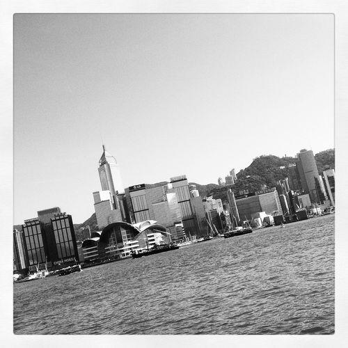They say diagonals are more dynamic Cityscapes Blackandwhite Diagonal HongKong