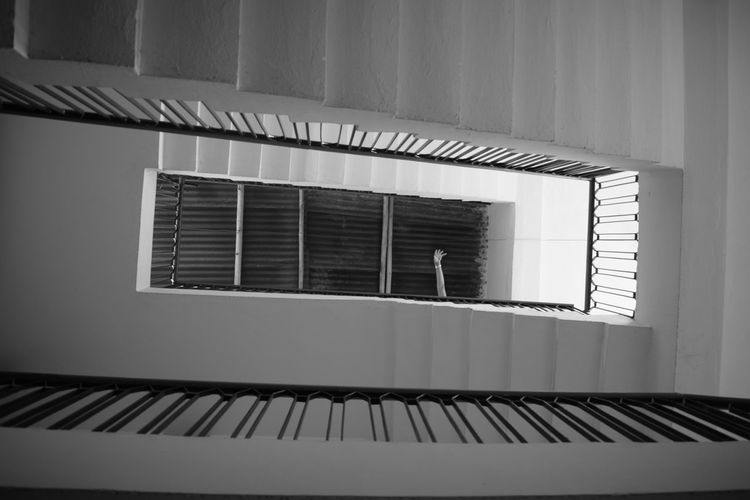 Architecture No People Built Structure Window Indoors  Building Exterior Day Spiral Staircase Close-up