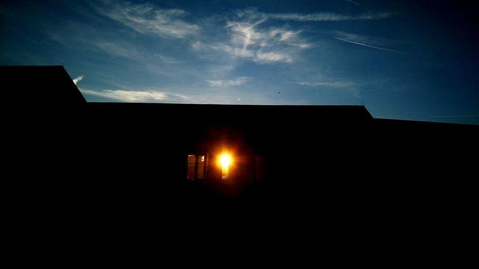 Houseoftherisingsun Outdoors No People Architecture Day Sunset Sunlight Housedreams Sunshine sunset #sun #clouds #skylovers #sky #nature #naturalbeauty photography