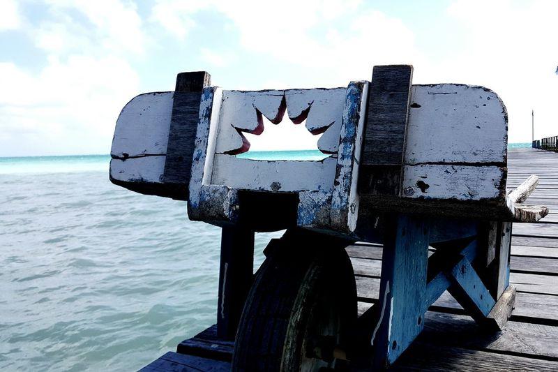 Dock Caye Caulker Believe Belize  Island Life Is A Beach Ocean Sea Enjoying Life Carry On