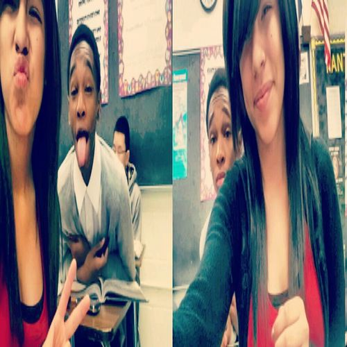 My Bestfriend & I ♥ we cute c;