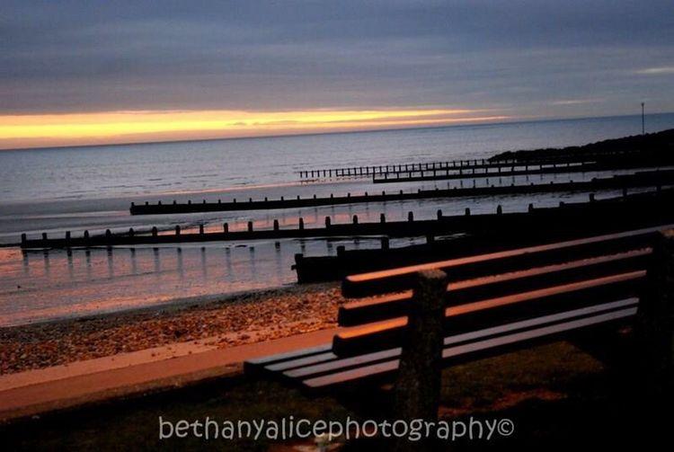 Felpham Beach Landscape Peace Sunset Happyplace Lines
