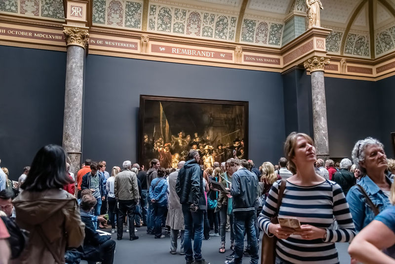 Amsterdam Architecture Art ArtWork Culture Europe Indoors  Interior Landmark Large Group Of People Lifestyles Men Museum Netherlands Paintings Real People Rembrandt Rijksmuseum Tourist Attraction  Travel Travel Destinations Visitors Weekend Activities Women Young Women