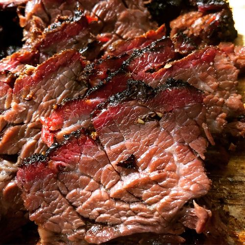 Slices BBQ beef short ribs Short Ribs BBQ Beef Ribs Smoked Food Barbecue Smoked Close-up Food And Drink No People Red Food Freshness Nature Meat