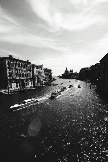 Grand Canal Venice Venice, Italy Venice Canals Italy Italy❤️ EyeEm Italy Italy Holidays Boats Boat