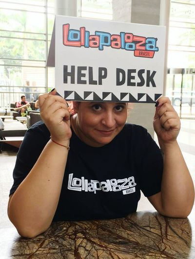 Lollapalooza Brasil 2016 Hell Desk Can I Go Home Now ?!  :D