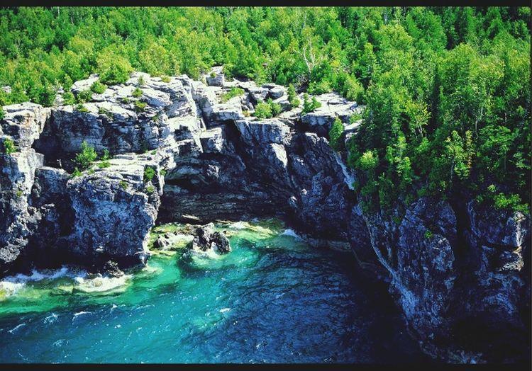 Landscape Iles De La Baie Georgienne Nationalpark Canada