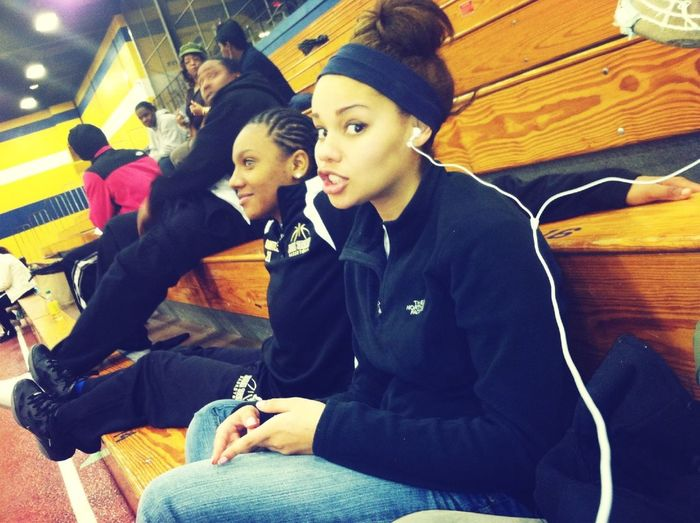 Chillin before my last game