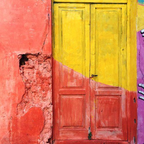 Red Door Yellow