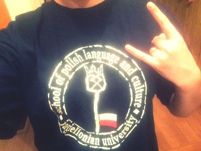 Won a T-shirt Jagiellonia University Mydream Tostudy Masters