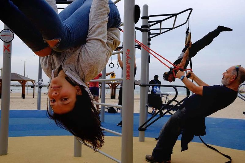 Up Side down EyeEmNewHere Adult People Leisure Activity Skill  Day Two People Young Adult Young Women