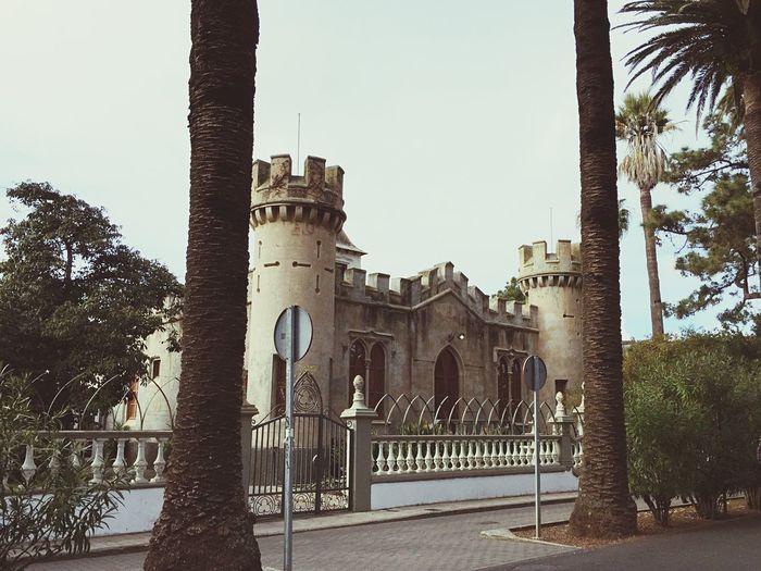 The little castle Taking Photos Tenerife La Laguna Castle Little Castle Beautiful Monuments House Amazing