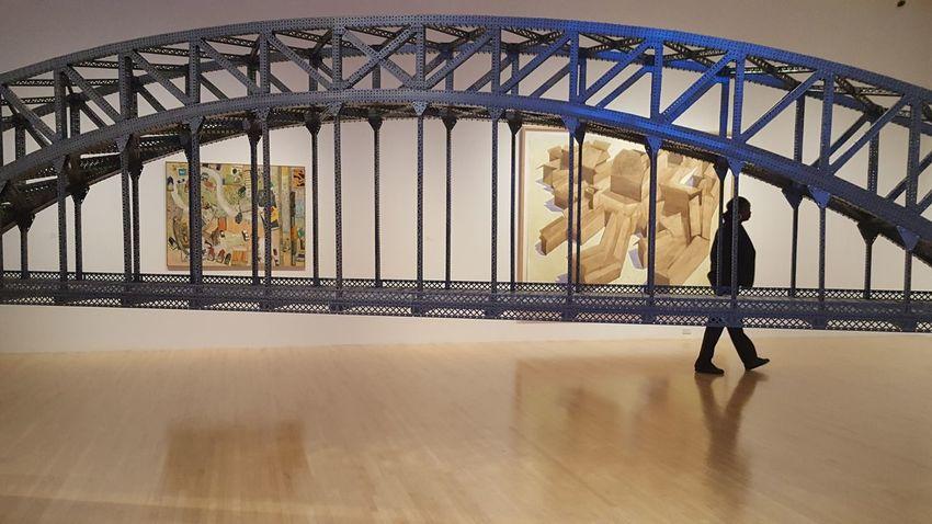 Moca Contemporary Museum Gallery Exhibition Built Bridge Design Arch