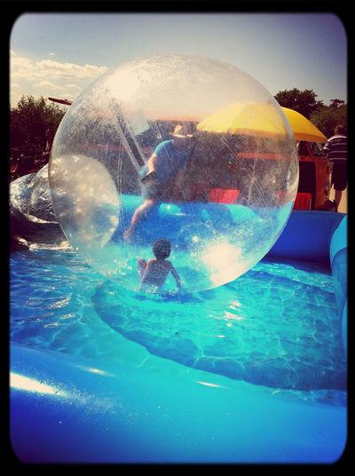 Kid In Hamster Ball