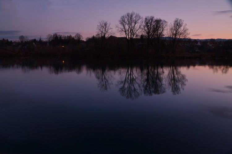 Magische Steyr Reflection Nature Tree Lake Water Sky No People Beauty In Nature Outdoors