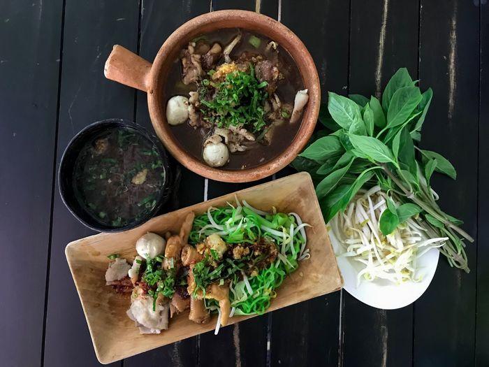 Thai food noodle
