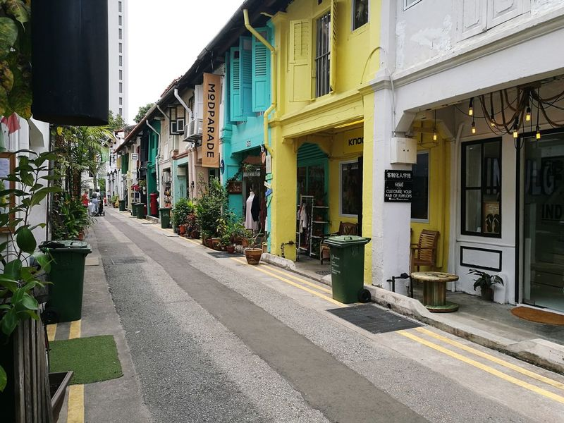 Haji Lane, Singapore Craft Streetphotography Architecture Built Structure Store Building Exterior Outdoors Day City No People Chino-Portuguese