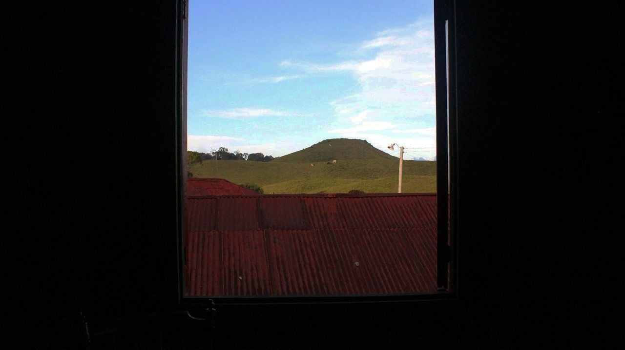 window, no people, day, sky, mountain, nature, indoors, beauty in nature, landscape