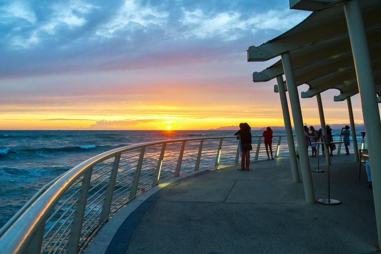 Sunset Sky Sea