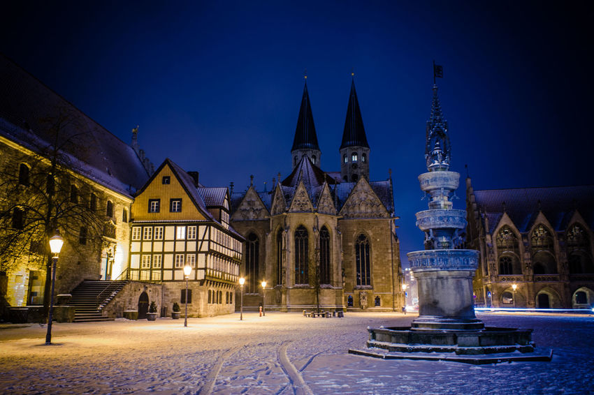 Amazing night in Braunschweig Long Exposure Architecture Winter Nights Germany