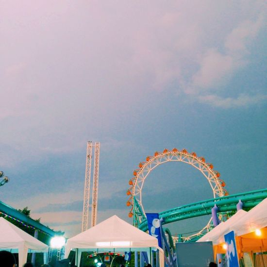 Happy time and enjoy lift cat expo music festival Enjoying Life Bangkok Thailand Sky : )